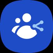 تطبيق مشاركة المجموعة أيقونة