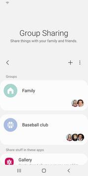 تطبيق مشاركة المجموعة تصوير الشاشة 4
