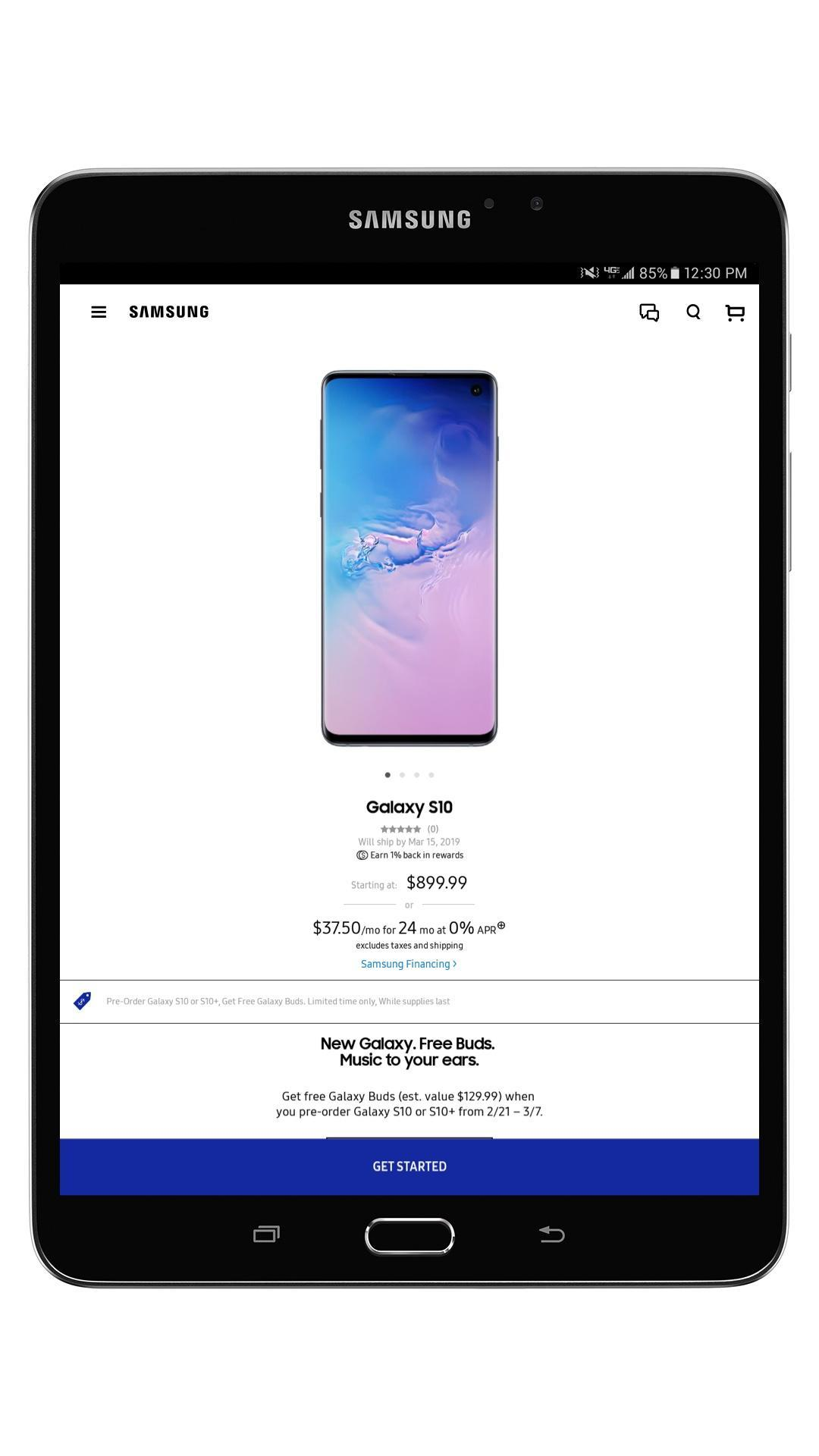 Shop Samsung for Android - APK Download