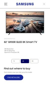 Samsung TV True Fit 海报