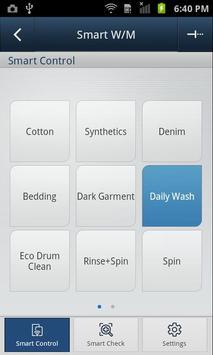 SAMSUNG Smart Washer/Dryer screenshot 1