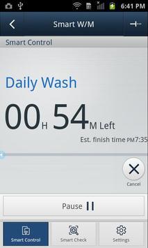 SAMSUNG Smart Washer/Dryer screenshot 3