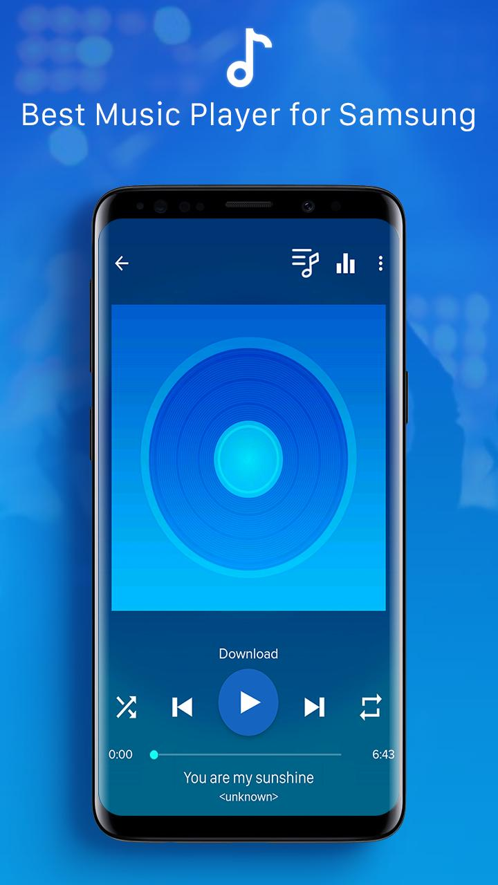 Galaxy Player - Music Player for Galaxy S10 Plus for Android
