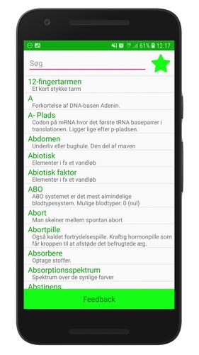 Biologiordbogen For Android Apk Download