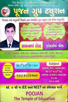 Poojan Group Tuition poster