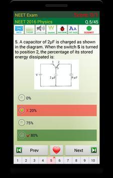 NEET Exam 스크린샷 2