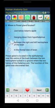 Human Anatomy Quiz 截图 18