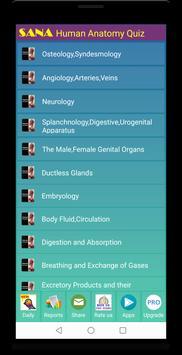 Human Anatomy Quiz 截图 8