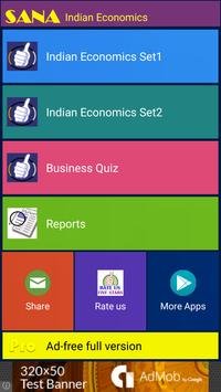 Indian Economics Quiz screenshot 14
