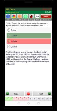 RRB NTPC Railways Exam 스크린샷 12