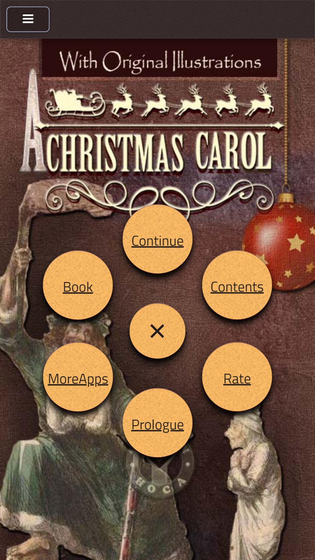 Christmas Carol Charles Dickens poster