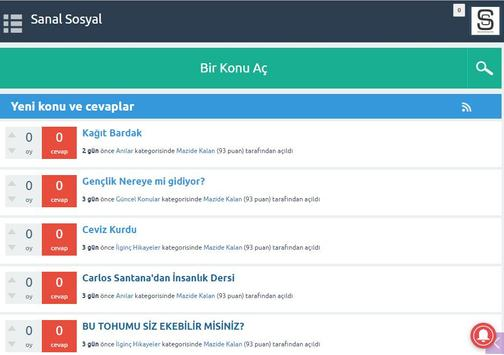 Sanal Sosyal screenshot 4