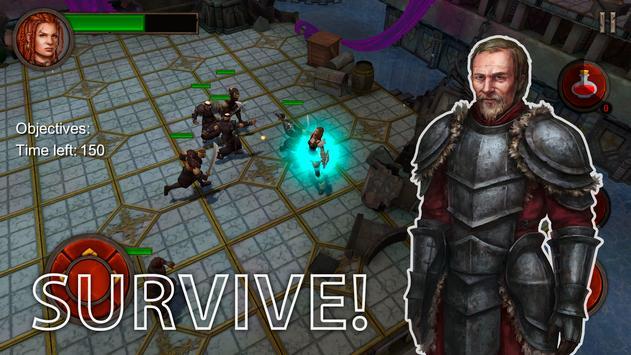 Ancient Rivals: Dungeon RPG Screenshot 1