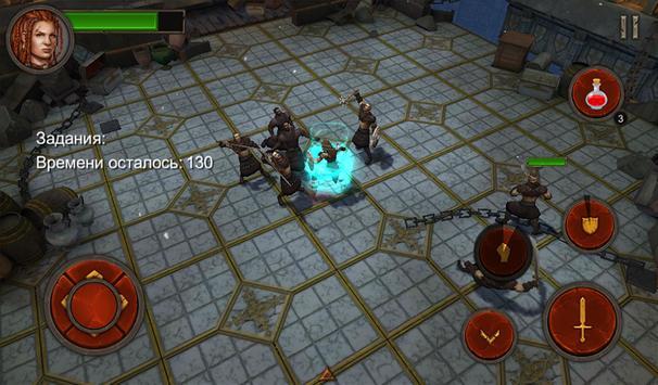 5 Schermata Ancient Rivals: Dungeon RPG