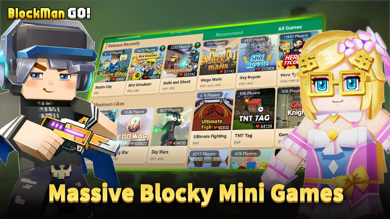 Blockman Go: Blocky Mods for Android - APK Download
