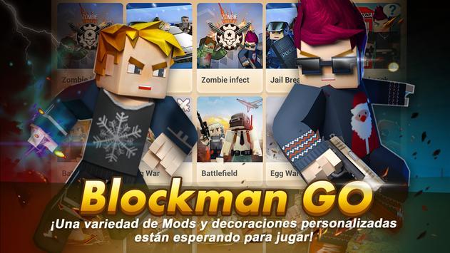 Blockman Go: Blocky Mods Poster