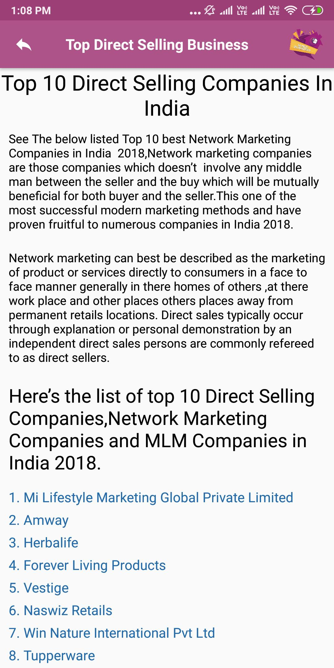 Direct Selling for Android - APK Download