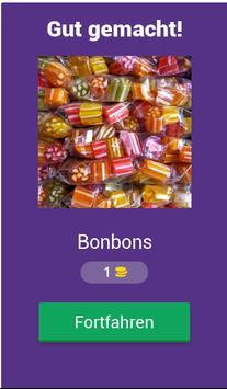 Süßigkeiten Quiz screenshot 1