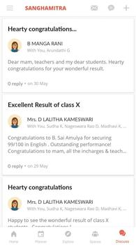 Sanghamitra School App screenshot 2