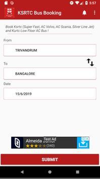 Kerala State - Bus Booking poster