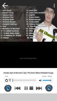Lagu Sholawat Ustad Jefri Albume Terbaru Offline screenshot 1