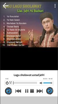 Lagu Sholawat Ustad Jefri Albume Terbaru Offline screenshot 3