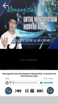 Lagu Sholawat Ustad Jefri Albume Terbaru Offline screenshot 5