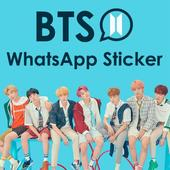 BTS Sticker Whatsapp - WAStickerApps 图标