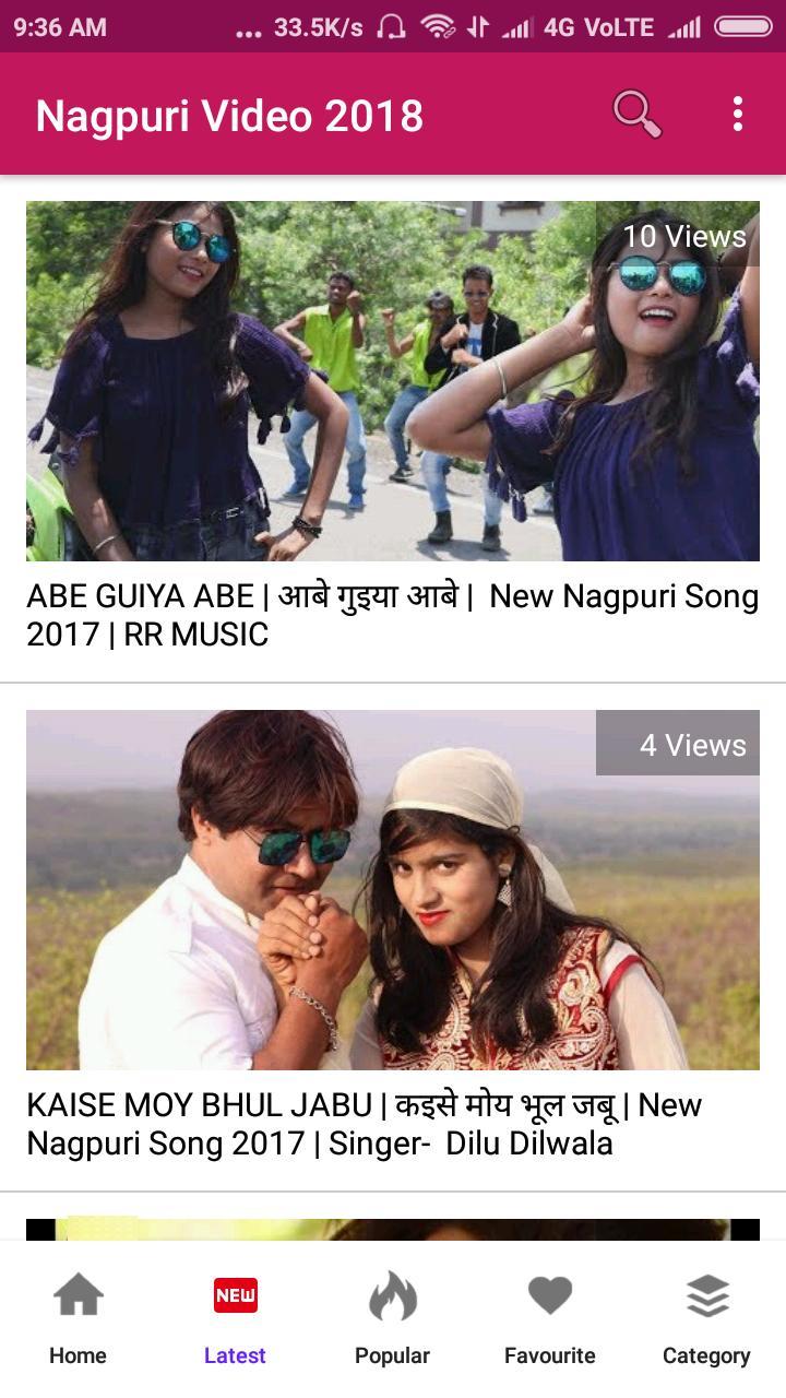 Nagpuri Video - Nagpuri Song, Gana, DJ, Album 🎬 for Android