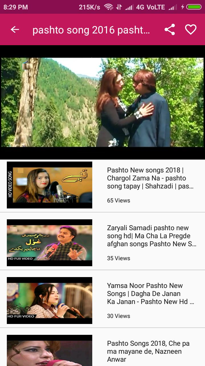 My Friends Told Me About You / Guide pashto video song