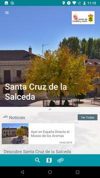 Santa Cruz de la Salceda Guía Oficial poster