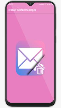 recover All your deleted Messages poster