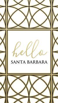 See Santa Barbara poster