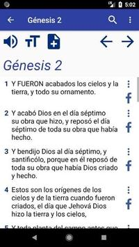 Santa Biblia screenshot 2