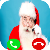 fake  Call Santa claus 2 icon