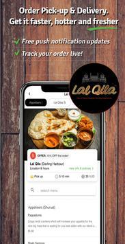 Lal Qila Food Ordering App poster