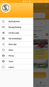 Sasta Lodge - Hotel, Dormitory, Pg, Picnic spots screenshot 6
