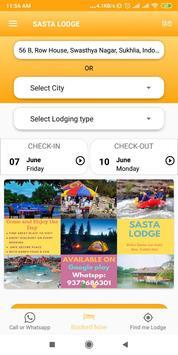 Sasta Lodge - Hotel, Dormitory, Pg, Picnic spots poster