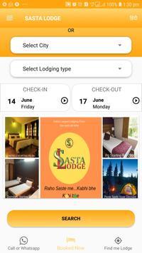 Sasta Lodge - Hotel, Dormitory, Pg, Picnic spots screenshot 2
