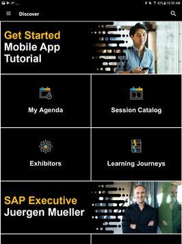 SAP TechEd screenshot 13