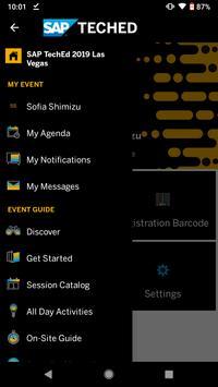 SAP TechEd screenshot 1