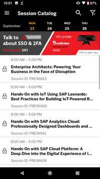 SAP TechEd screenshot 2