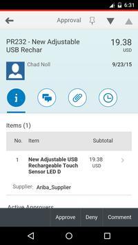 Ariba Mobile स्क्रीनशॉट 3