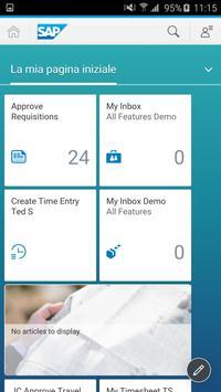 1 Schermata SAP Fiori