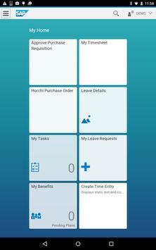 SAP Fiori screenshot 7