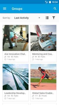 SAP Jam capture d'écran 5