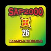 SAP2000-26 EXAMPLE PROBLEMS icon