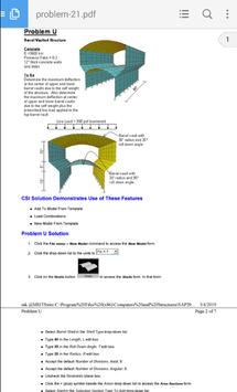 SAP2000-26 EXAMPLE PROBLEMS screenshot 1