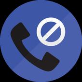 Bloqueio de chamadas ícone