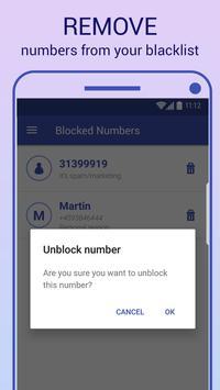 Call Blocker تصوير الشاشة 3